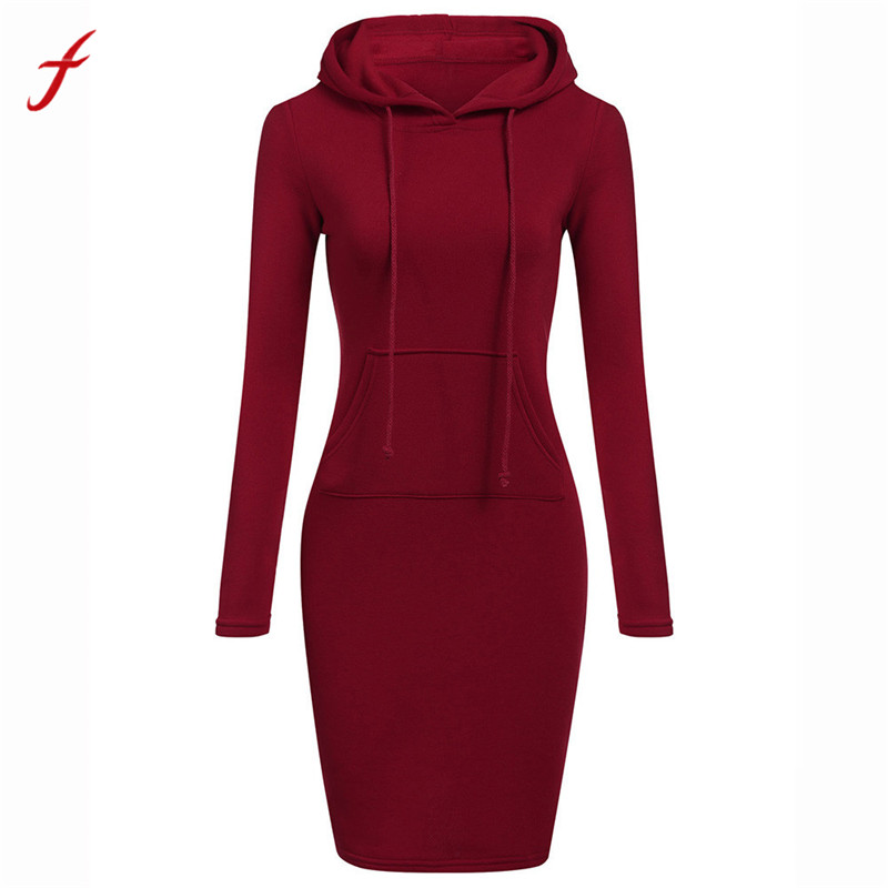 Feitong winter dress Women plu...