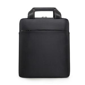 Image 4 - Mens Vertical Briefcase Men Waterproof Computer Messenger Bag Male Oxford Cloth Shoulder Bag Travel For IPAD Handbag Sac Homme