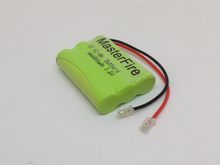 6PACK/LOT Brand New Ni-MH AAA 3.6V 800mAh Ni MH Rechargeable Battery Cordless Phone Batteries Pack with Plugs