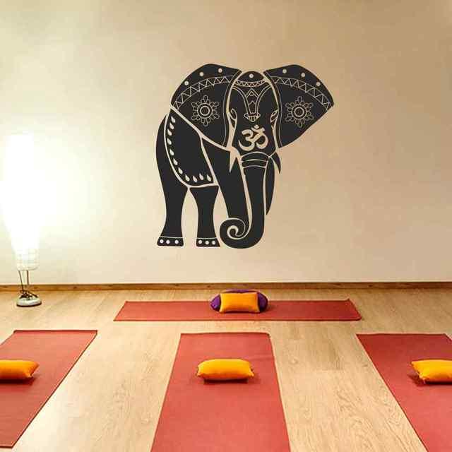 Ganesh Ganesha Elephant Lord Of Success Hindu Hand God Buddha India  Housewares Vinyl Decal Design Interior