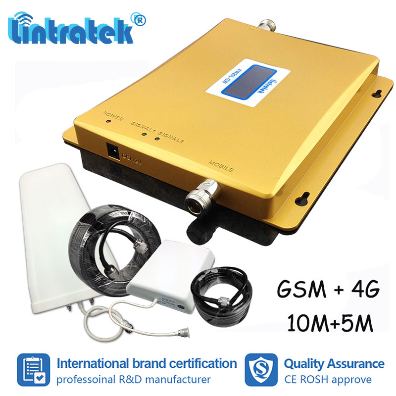 Lintratek Ship From Russia 4G LTE GSM 1800 900 Repeater GSM 900mhz DCS 1800mhz Signal Booster Cellular Amplifier Repetidor #ddLintratek Ship From Russia 4G LTE GSM 1800 900 Repeater GSM 900mhz DCS 1800mhz Signal Booster Cellular Amplifier Repetidor #dd