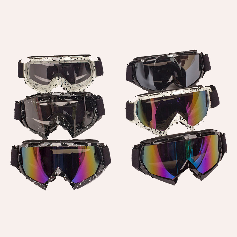 HELMET Goggles Open face off road motorcycle helmet motocross ktm fox Goggles glasses Sc ...
