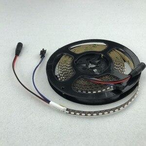Image 4 - 3m/roll 144 LEDs/m DC5V SK6812 4020 شريط مرن LED عنونة انبعاث الجانب ؛ غير مقاوم للماء ؛ IP33 ؛ أسود ثنائي الفينيل متعدد الكلور