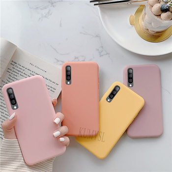 Candy Color Soft Case For Samsung Galaxy S8 S9 S10 Plus S10E Note 10 8 9 A30 A50 A70 A40 A20e A60 A7 A6 A9 J4 J6 Plus 2018 Cover 1