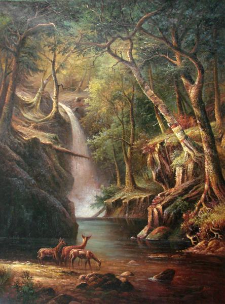 Cool Fall Desktop Wallpaper Aliexpress Com Buy Free Shipping Classical Forest Deer
