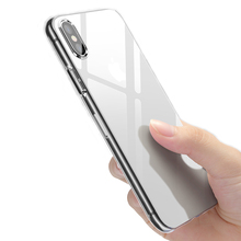 Transparent Clear Case Soft TPU Case Silicone Cover Ultra Thin Mobile Phone Case for IPhone 8 7 6 6S Plus X XS MAX XR 8 5 5s SE цена и фото