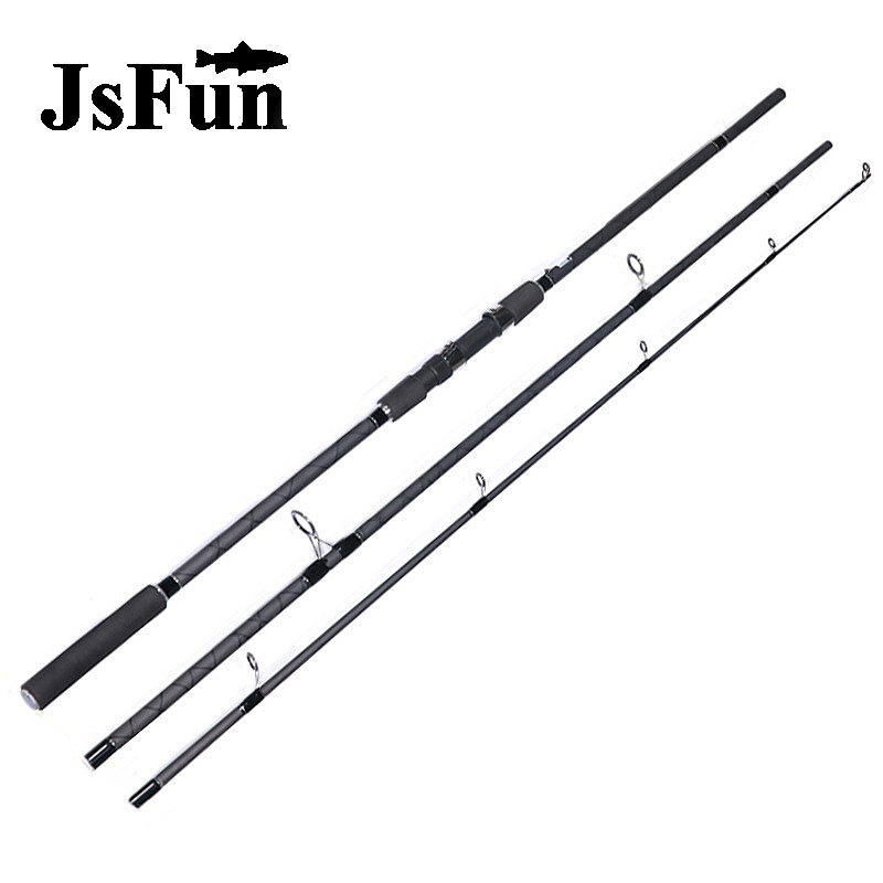3 Section Trolling Boat Fishing Rod Tough Troll Rods Super Hard Carbon Fiber Carp Pole Powerful