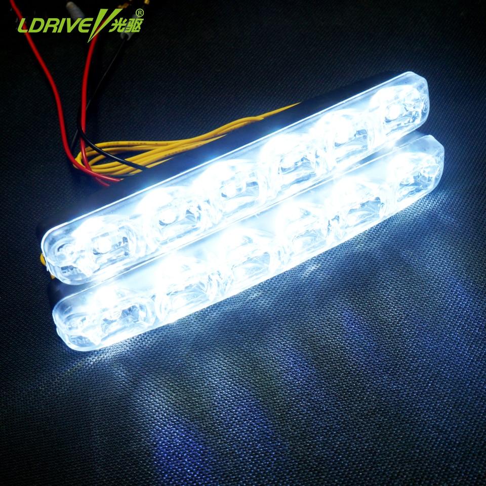 2 * 6 LED καθολική αδιάβροχο 12V - Φώτα αυτοκινήτων - Φωτογραφία 2