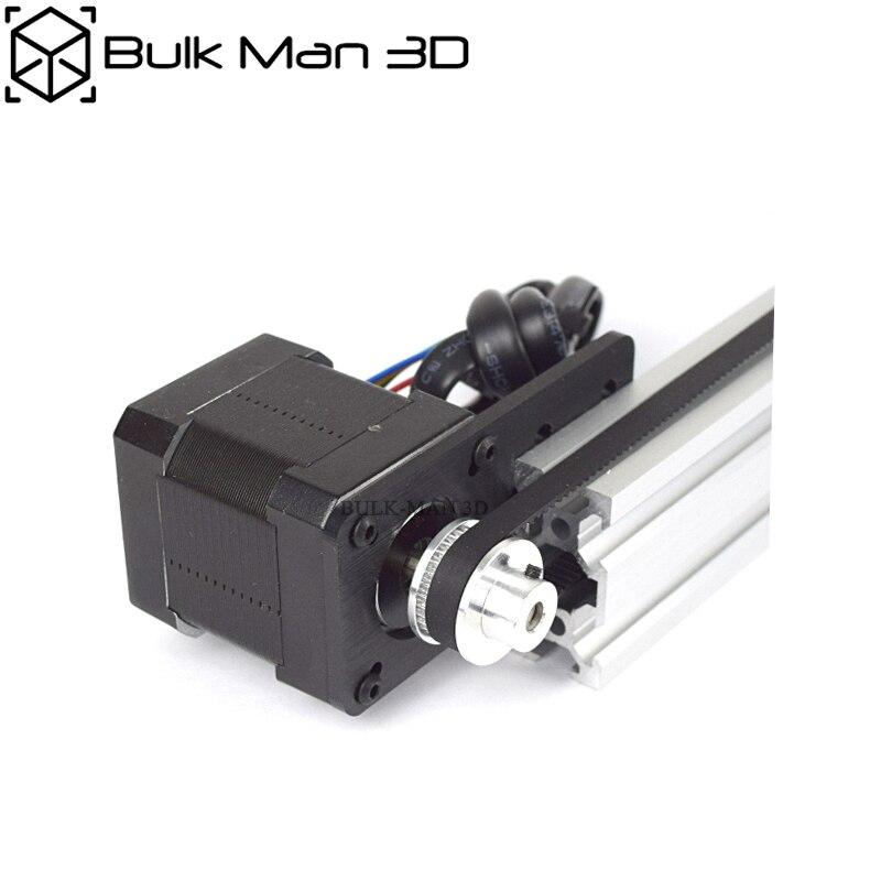 V-Slot Belt Driven Linear Actuator Bundle X Y Z Axis Movement 3D Printer Laser