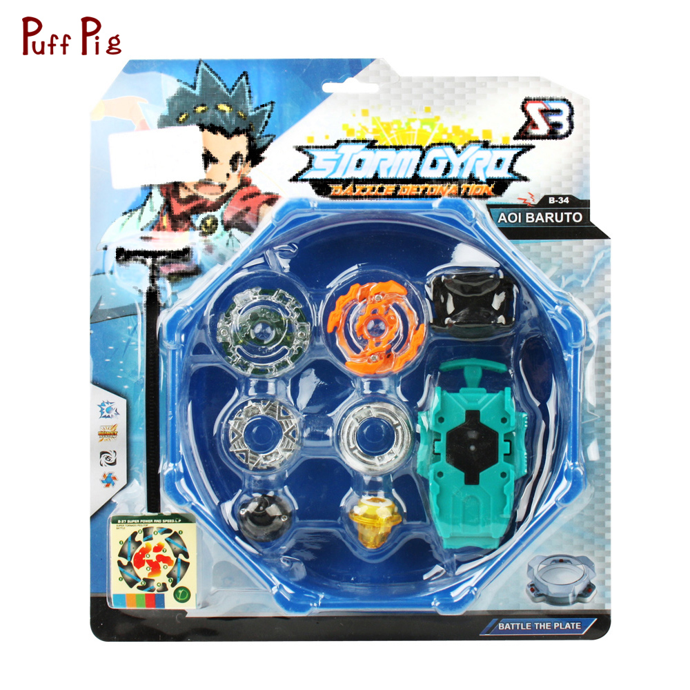 Spinning Top Beyblade Burst 4D Set With Launcher and Arena Metal Fight Battle Fusion Classic Toy With Original Box For Kid Gifts sog fusion battle ax