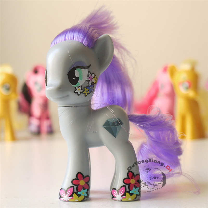P8-109 Action Figures 8cm Little Cute Horse Model Doll Maud Rock Anime Toys for Children(China)
