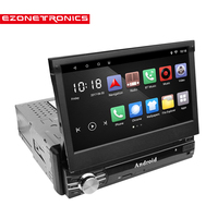 1 Din Car Radio Player 7 GPS Navigation Bluetooth Android 6 0 MP5 Player Steering Wheel