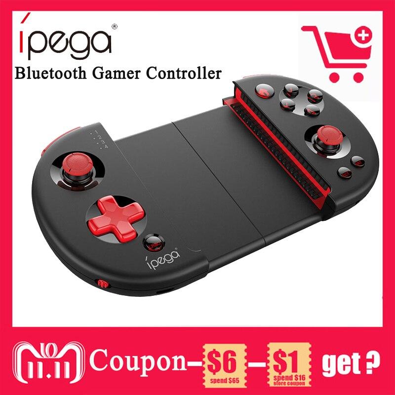 IPEGA PG-9087 Bluetooth Android Gamepad Sans Fil Contrôleur de Jeu Gamepad PC Joypad Joystick Pour PUB/Couteaux Out/Règles de survie