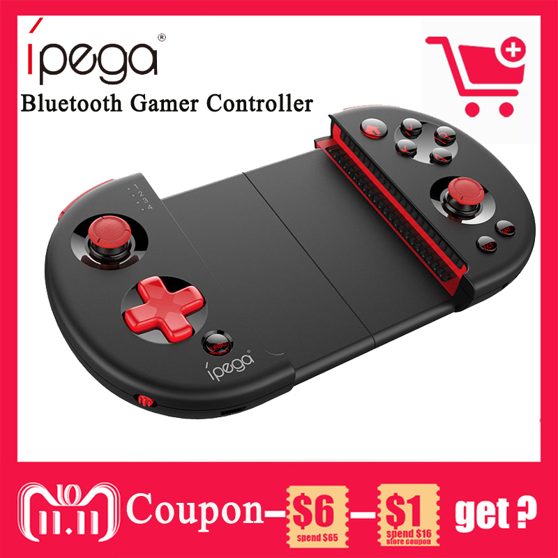 IPEGA PG-9087 Bluetooth Android Gamepad Wireless Game Controller Gamepad PC Joypad Joystick For PUB/Knives Out/Rules of Survival цена 2017