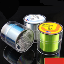 2015 new 500M Fluorocarbon Extreme Quality Fishing Cord 0.148-0.467mm 7-42LB Nylon Line fly fishing line peche