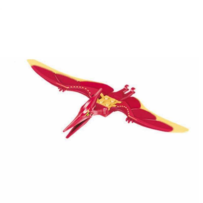 Bloqueio Velociraptor Dinossauros Tiranossauro Rex Triceratops Travamentos Mundo Jurássico Parque Blocos Brinquedos Para Crianças Com Fechaduras