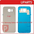 50pcs/lot Original  For Samsung Galaxy S6 G920  white black blue gold Back Cover Rear Door Housing Battery door + tracking code