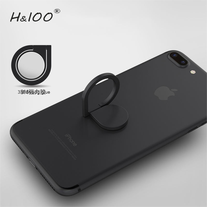 H&lOO Brand 360 degree rotation Mobile Phone Holder Dashboard Bracket Cell Phone Holder Stand For iPhone 7 Magnet Mount Holder