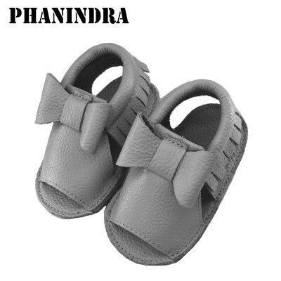 Moccs Bebê crianças menina Infantil verão Sapatos attipas