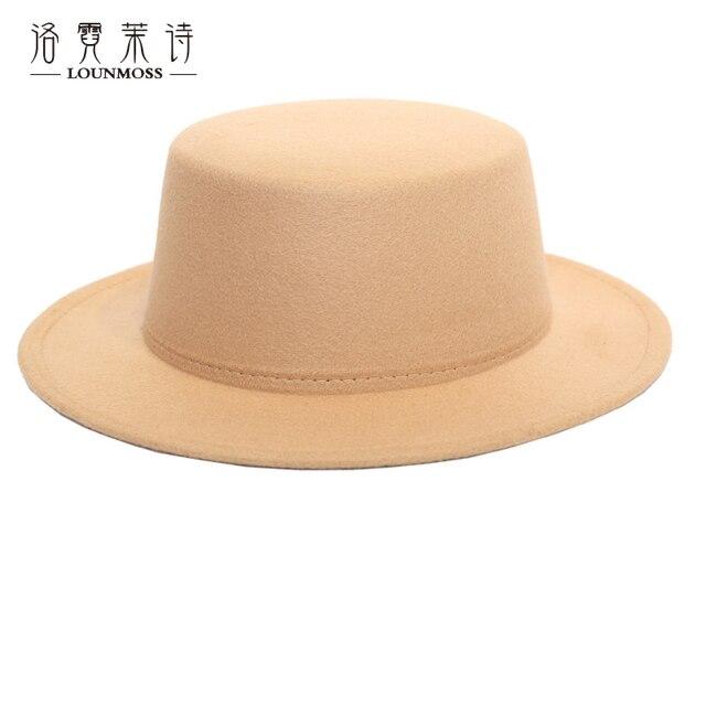 Men Fedora Hat Winter Vintage Wool Felt Hat Baronial Visor Bowler Hats Dome  Bucket Caps For Women Chapeu Feminino MZ042 975bd6bd808e