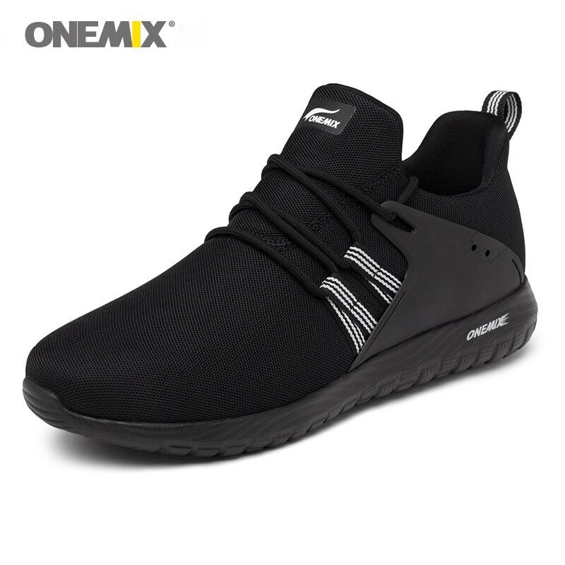 Liquidation onemix femme sport sneakers respirant hommes athletic gym formateurs filles coloré sports de plein air de marche sneakers