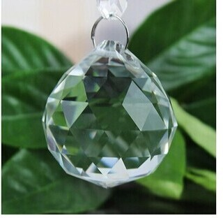 8PCS/lot, 30mm crystal chandelier balls crystal faceted balls ...