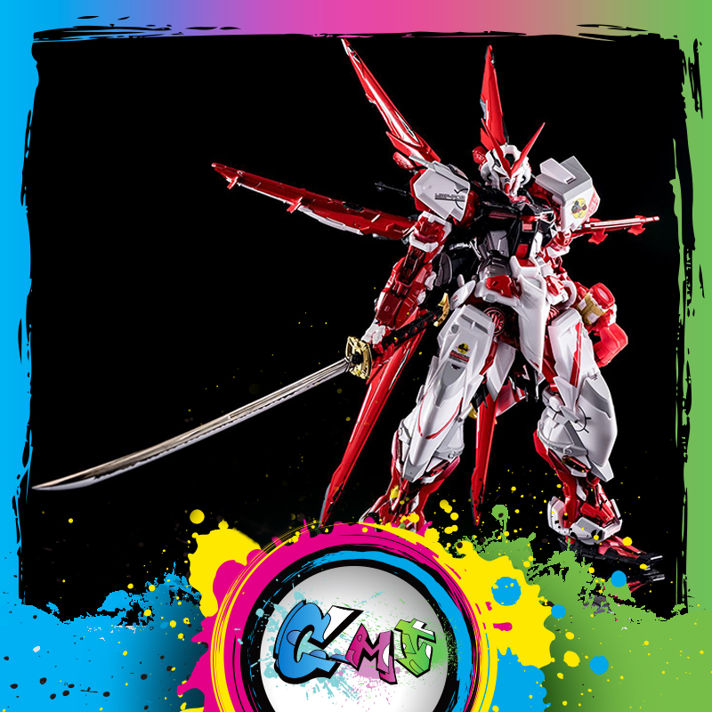 CMT Instock Metal Gear MC Muscle Bear Models Metal Build Astray Red Robot Action Figure Anime Toys Figure
