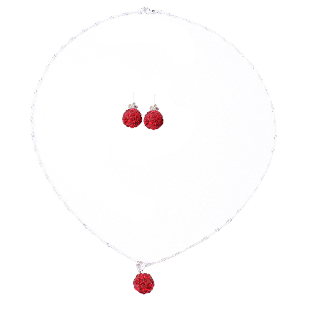 1 Set Shiny Jewelry Crystal...