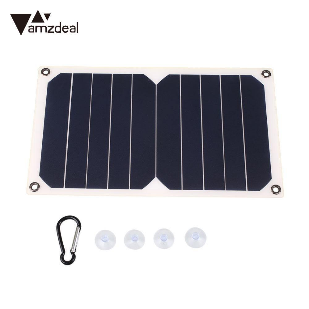 Computer & Office Amzdeal 5v 6w Solar Power Charging Panel Battery Charger Usb For Mobile Phone Latest Technology Tablet Chargers