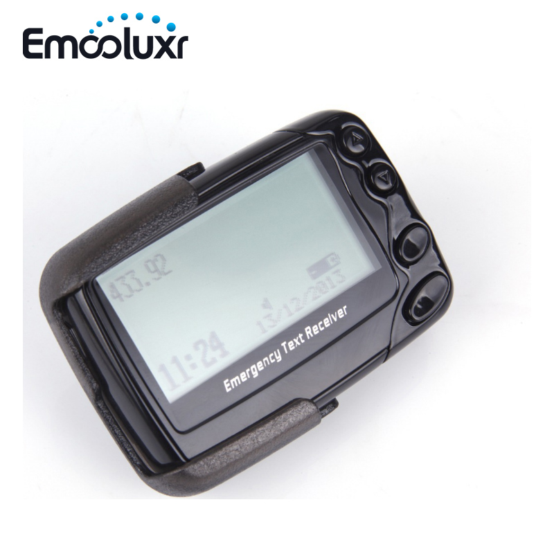 Wireless Numberic Pager Portable Calling System Emergency Text Receiver English/Hebrew/Farsi/French/Korean Pageing System