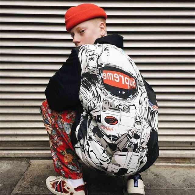 Alta Qualidade Dos Homens de Justin Bieber SUP Jaquetas Masculinas de Inverno Harajuku estilo Casacos Parkas High Street Graffiti Homens Sup Sup DA NASA S-XL