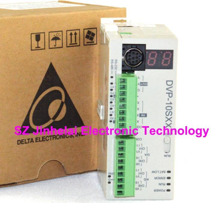 New and original DVP10SX211R, DVP10SX211T DATEL Plc controller, 4DI/2DO new and original dvp24es200r dvp24es200t datel plc controller 16di 8do
