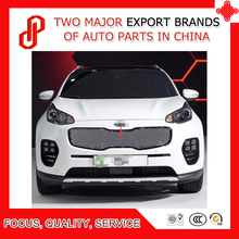 цена на High quality 1 Piece 304 Stainless steel car front grille racing grills grill cover trim for Sportage KX5 2016 17 18