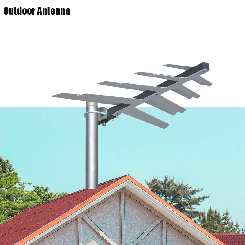 Vidbox HD Digital TV Antenna For DVBT2 HDTV ISDBT ATSC 470 MHz -860MHz High Gain Strong Signal Outdoor TV Antenna цены онлайн