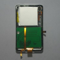 For iPod classic 7th iPod video 256GB 1.8 short SSD Chip with Slim case + battery + audio flex cable replacement MK1634GAL
