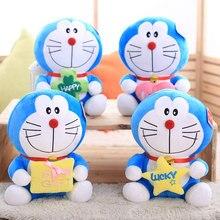 The original lovely doraemon dolls jingle cats plush toys large doll birthday present Christmas day gift free shipping