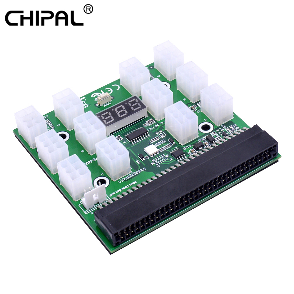HP 1200w//750w Breakout Board for HP PSU GPU Mining Ethereum ZEC ZCASH ETH
