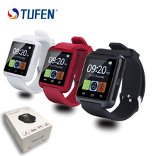 2017 bluetooth smartwatch smart watch u8 u reloj para ios iphone samsung sony huawei xiaomi teléfonos android