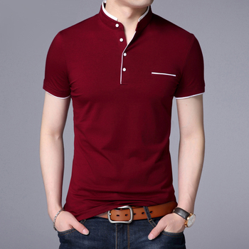 Men Casual Cotton Polo Shirt
