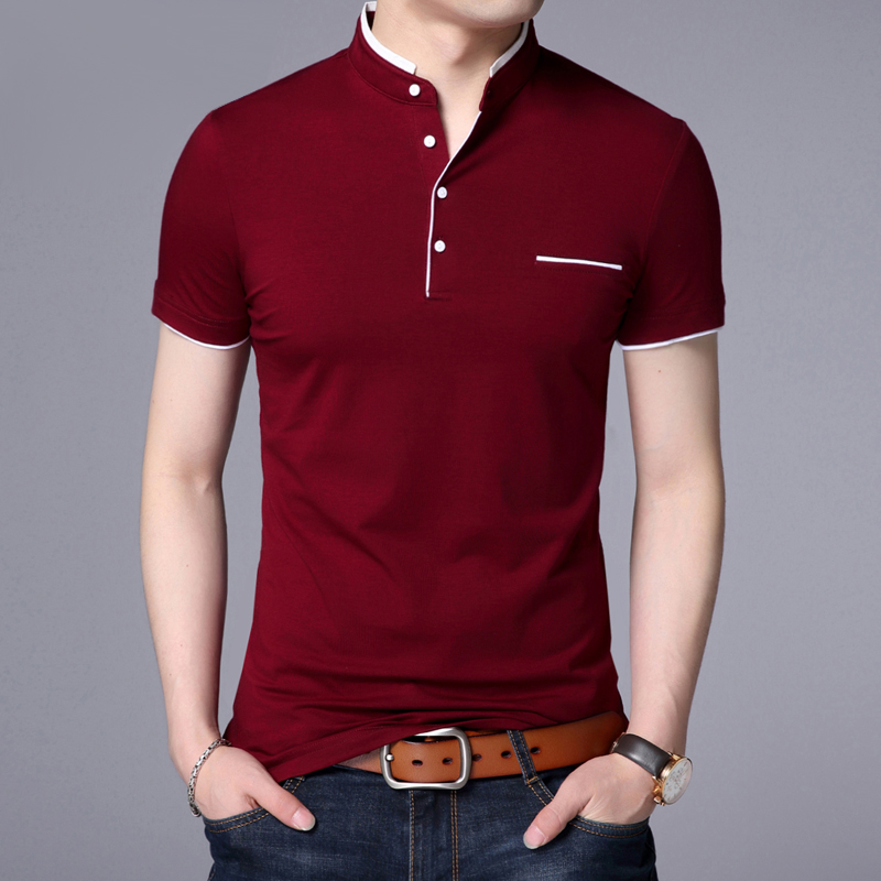 Summer Polo Shirt Men Casual Cotton Solid Color Poloshirt Men's Breathable Tee Shirt Golf Tennis Brand Clothes Plus Size 5XL