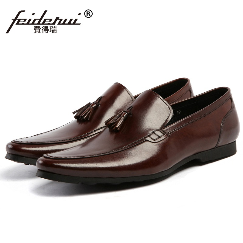 Здесь можно купить  New Stylish Man Tassels Casual Moccasin Shoes Genuine Leather Comfortable Loafers Round Toe Designer Men