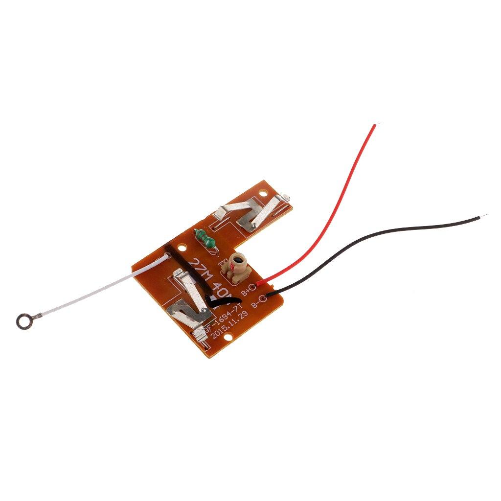 Set of 40MHZ 4CH Remote control module rc car robot ship toys parts