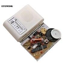 Комплект радиоприемника CF210SP AM/FM, набор для сборки электроники DIY, набор для учащихся, July DropShip