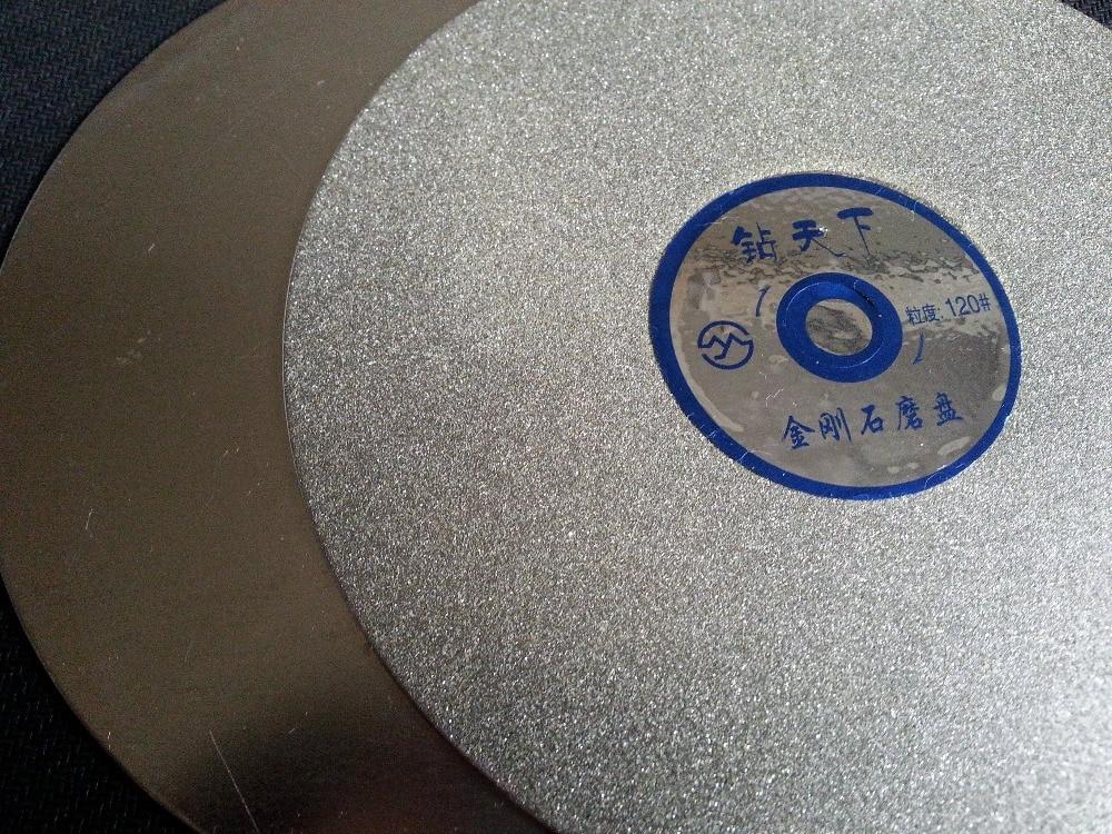 6 Inch Diamond Flat Polishing Laps For Crystal , Polishing Tools Grit #120 Free Shipping