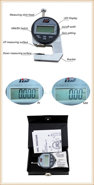 Manufacture jewelry tool,Mini jewelry gold thickness gauge , jewelry thickness gauge