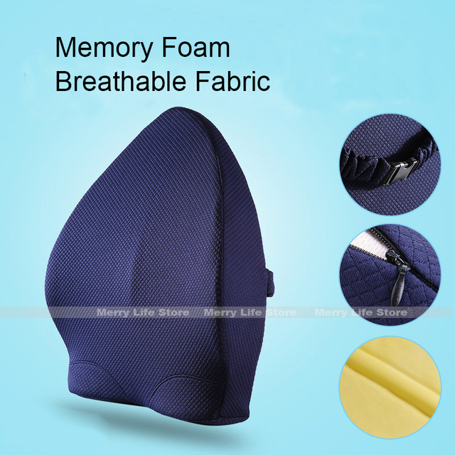 desk chair for lower back pain paidar barber sale memory foam lumbar support cushion car seat orthopedic pillow office driver driving wheelchair