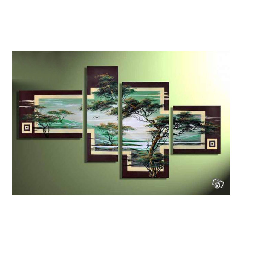 Awesome 4 Piece Cheap Modern Canvas Art Decoration Oil Living Room Wall Decor  Painting Cheap Wall Frameless Multi Panel Canvas Wall Art In Painting U0026  Calligraphy ...