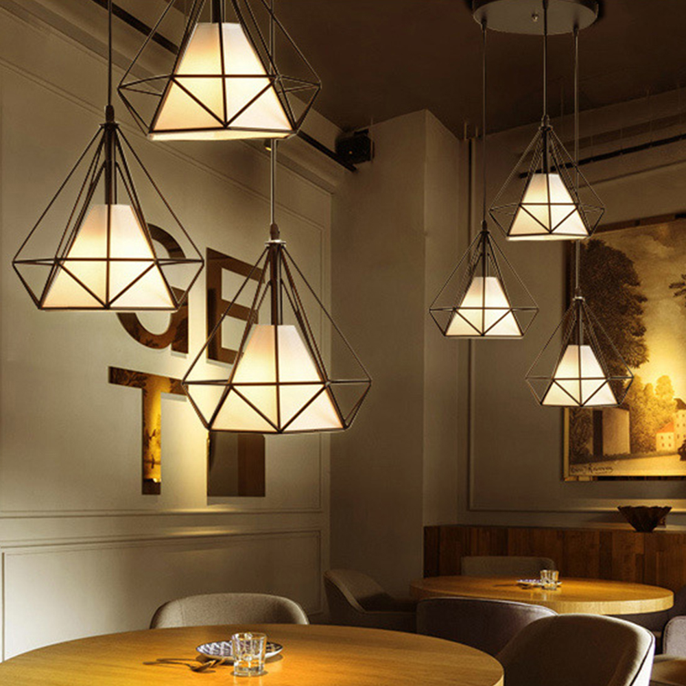 LED pendant light Nordic Europe retro style dinning lamp dinning room living room toggery clothing shop bar counter 1 Heads 25CM
