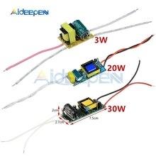 3 W 20 W 30 W LED Lampe Fahrer Transformator Konverter Eingang AC 85-265 V Netzteil Adapter 100mA 600mA 900mA Strom Für LED Licht