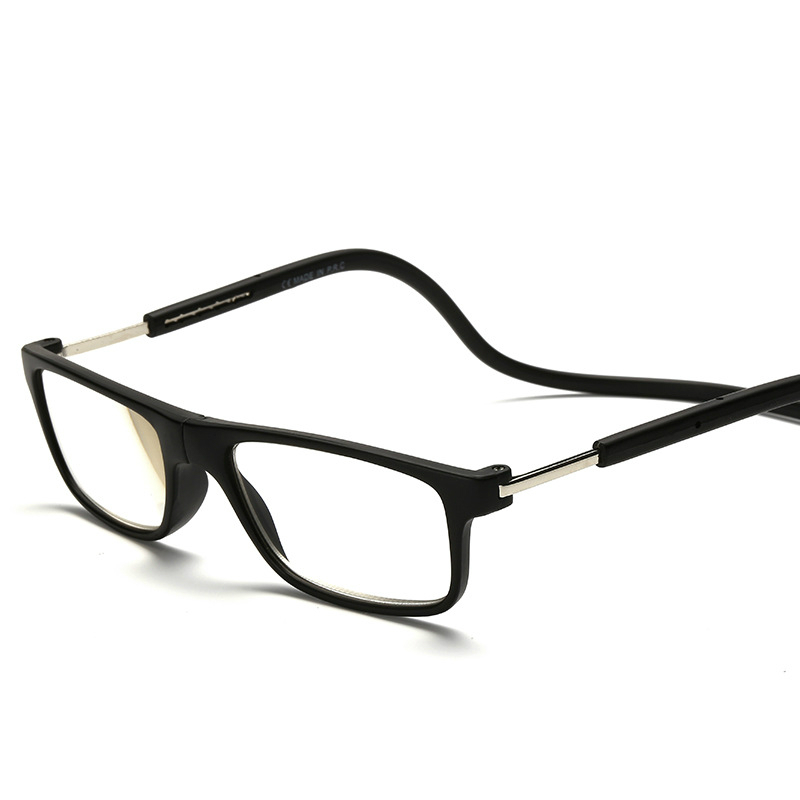 4f4c9d5f2c Glass Lens Mens Reading Glasses For Men Reader Presbyopic Eyeglasses 1.0 1.5  Flat Top Slim Eyewear Read Eyeglass PD 63mm 2.0 2.5-in Reading Glasses from  ...